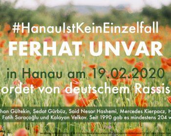 Erinnerung an die Opfer des Anschlages von Hanau am 19.02.2020 | © 2021 Claus R. Kullak | Ana-Maria Berbec / Unsplash | respublica.prepon.de